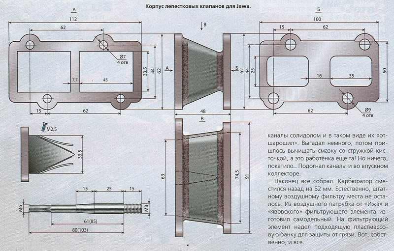 Как сделать лепестковый клапан своими руками на