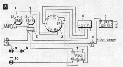 схема управления двигателем ваз 2107. схемы ваз.