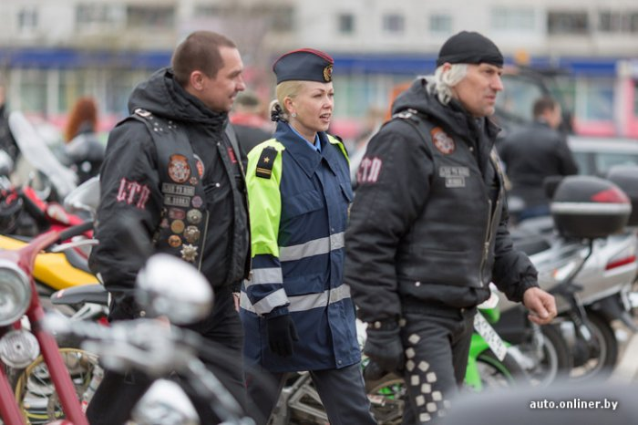 Открытие мотосезона в Минске 12.04.2014 г.