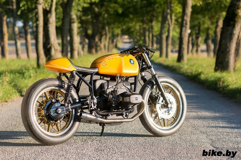 Unique Custom Cycles: кафе рейсер BMW R100RT