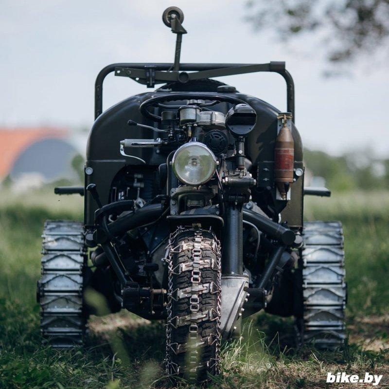 Военная трехколесная машина Moto Guzzi 1960-х