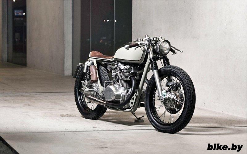 Vagabund Moto: кафе рейсер Honda CB450