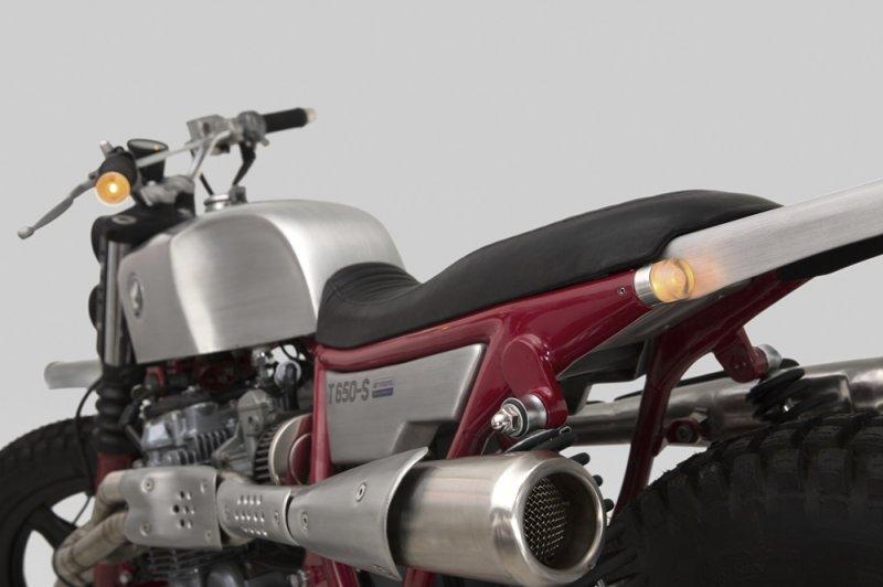 Thrive Motorcycles: скрэмблер Honda CB650