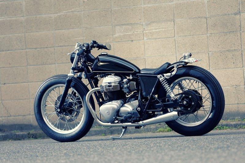 Heiwa MC: кастом Kawasaki W650