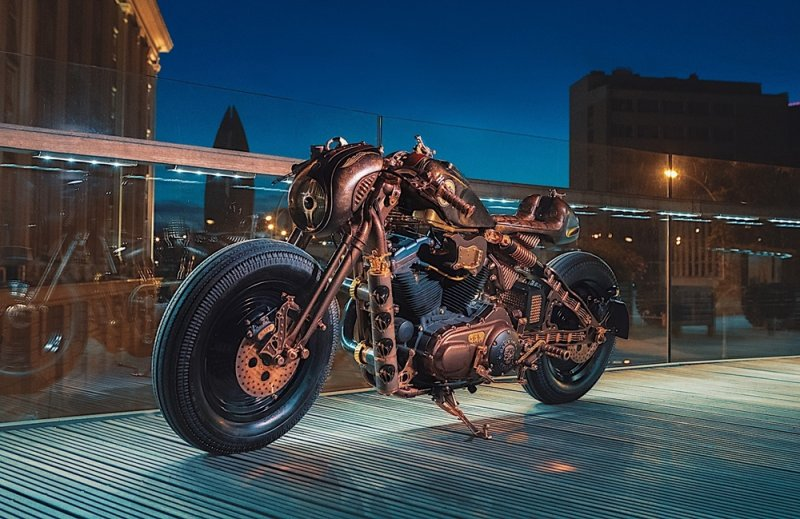 Game Over Cycles: кастом Harley-Davidson Sportster 883